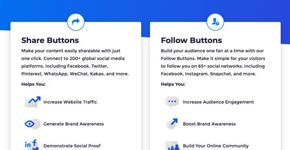 AddThis Buttons Page